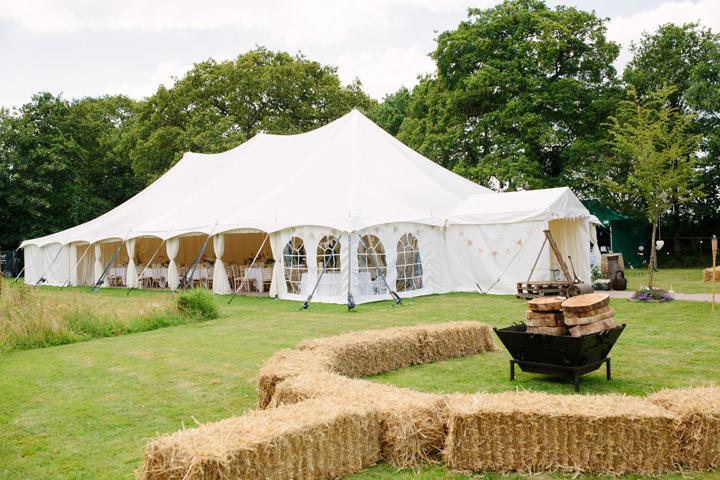 namiot na wesele w plenerze